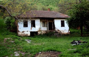 bulgarian rural village house