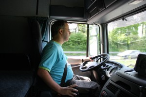 truck drivers from Bulgaria